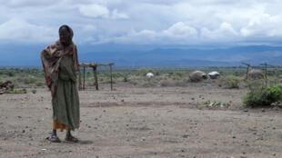 Sécheresse en Ethiopie, en 2016.