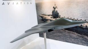 Le Scaf vu par le constructeur français Dassault-Aviation.