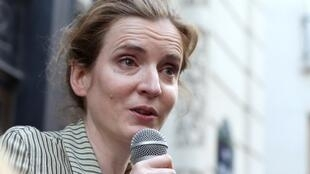"Nathalie Kosciusko-Morizet promises a ""wind of liberty"" after being picked as UMP candidate for Paris mayor"