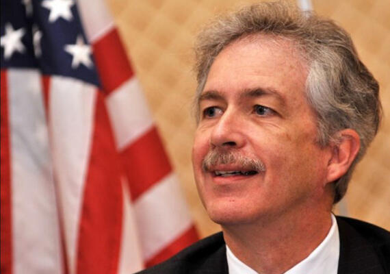 Thứ trưởng Ngoại giao Mỹ William Burns (Reuters)