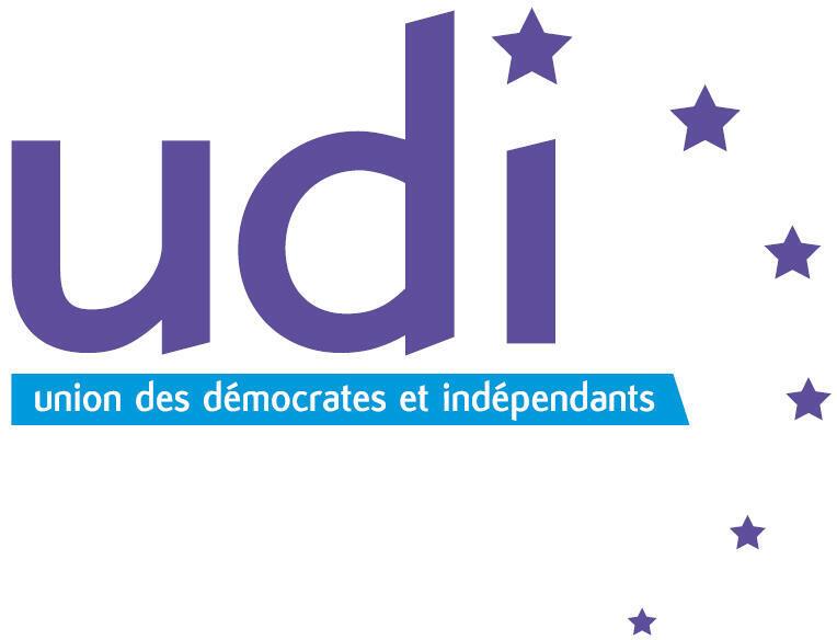Logo UDI, Union des Démocrates et Indépendants.