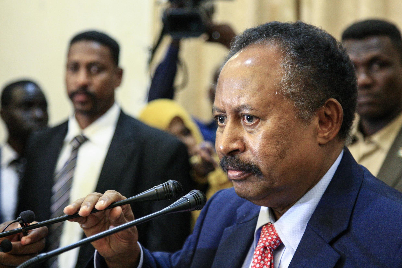 Abdalla Hamdok, ici à Khartoum, le 21 août 2019 (image d'illustration).