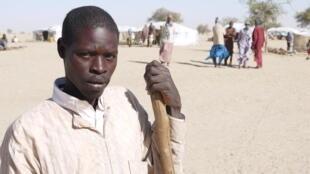 Ibrahim Ousmane, wani mazaunin garin Damasak da ya tserewa farmakin mayakan Boko Haram a cikin watan Nuwamban 2020.