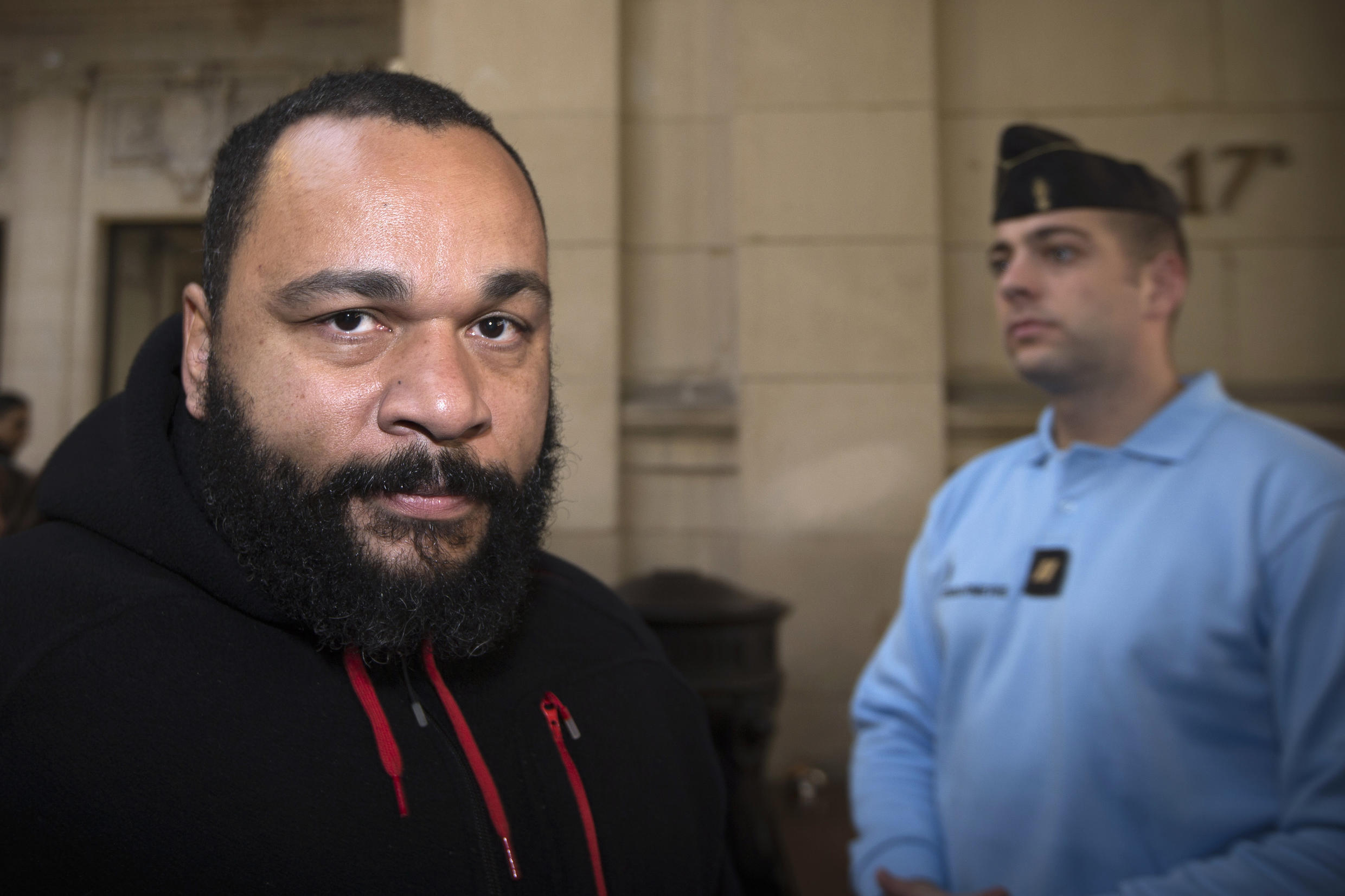 File photo of French comedian Dieudonné, who has just been banned by the social media site TikTok