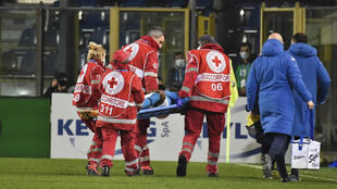 PHOTO Victor Osimhen blessé - 21 février 2021