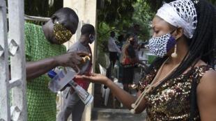 A Lagos, les lieux de culte ont été autorisés à rouvrirl e vendredi 9août 2020.