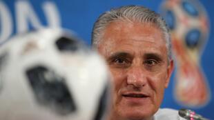 O treinador da seleção brasileira, Tite.