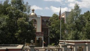 Le siège de l'Eglise orthodoxe à Addis Abeba, en Ethiopie.