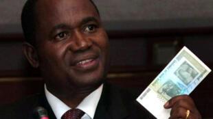 Gideon Gono, governor of Zimbabwe central bank