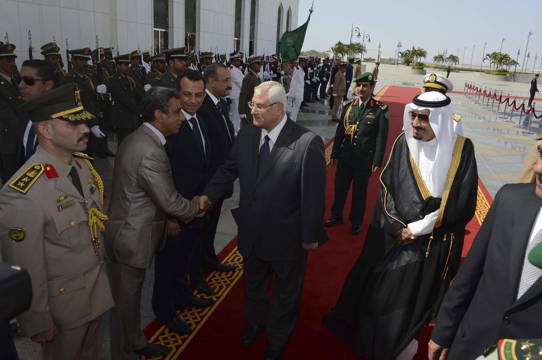 عدلی منصور، رئیس دولت موقت مصر