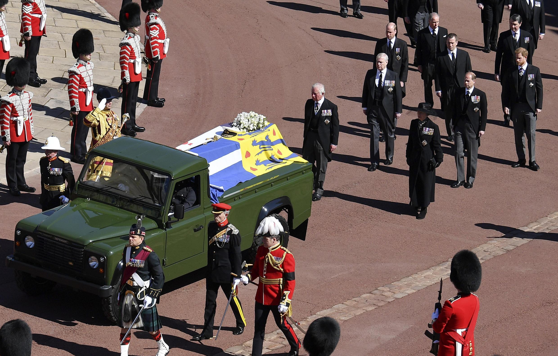 Royaume-Uni - Windsor - Funérailles prince philip - AP21107537876532