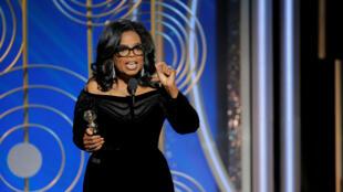Oprah Winfrey, recebeu o prémio honorário Cecil B. Demille