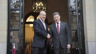 El presidente de Colombia, Juan Manuel Santos, firmará el miércoles 30 de mayo en París el acuerdo de adhesión a la Organización para la Cooperación y el Desarrollo Económicos (OCDE)