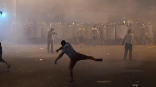 Erevan sous tensions, ici le 20 juillet 2016.