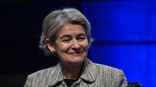 "lgare Irina Bokova  اهل بلغارستان، دور دوم ریاست خود به عنوان ""رئیس یونسکو"" را به پایان میرساند."