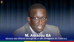 Amadou Ba, ministre sénégalais des Affaires Etrangères.