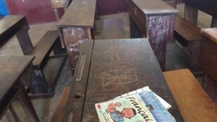 Une salle de classe.