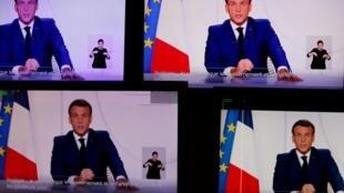 Emmanuel Macron allocution du 24 novembre 2020.