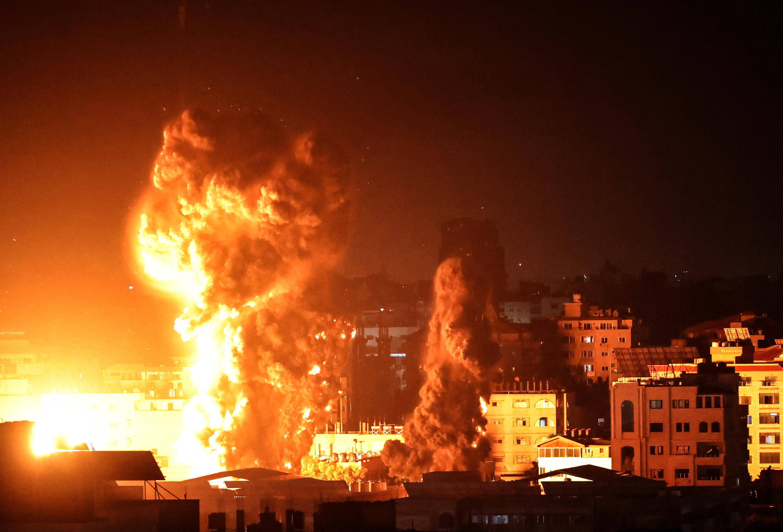 Gaza israel conflit israelo palestinien bombardement