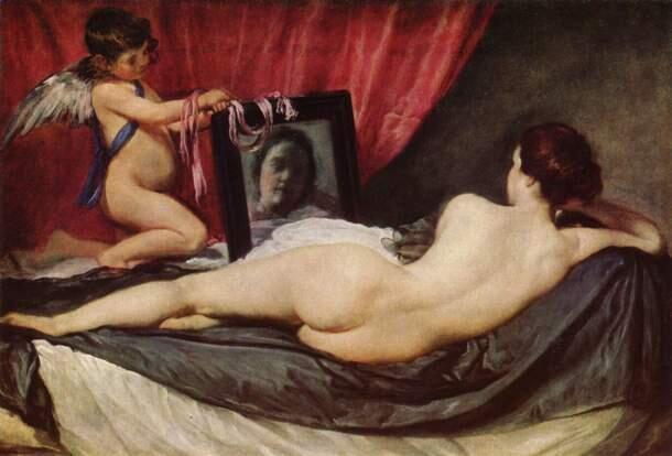 La Venus del espejo, de Velázquez (National Gallery, Londres, 1647-51)