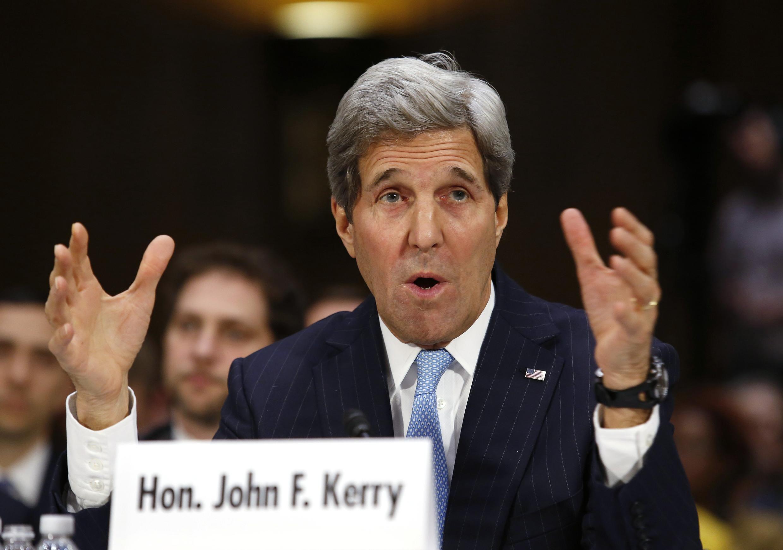 O secretário de Estado americano John Kerry