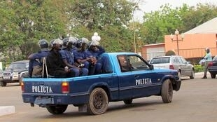 Patrouille de police en Guinée-Bissau (photo d'archives).