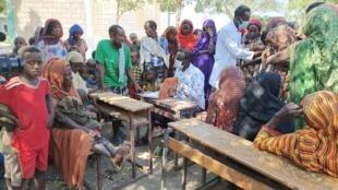 Ethiopie - Afar - Gewane - Camps - Déplacés