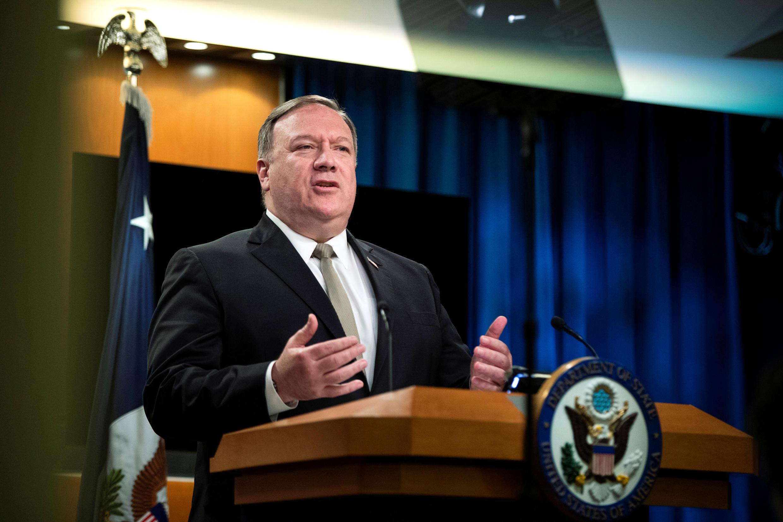 美國國務卿蓬佩奧資料圖片