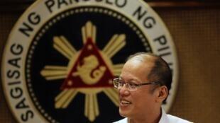 Le président philippin, Bengino Aquino, le 2 juillet 2012.