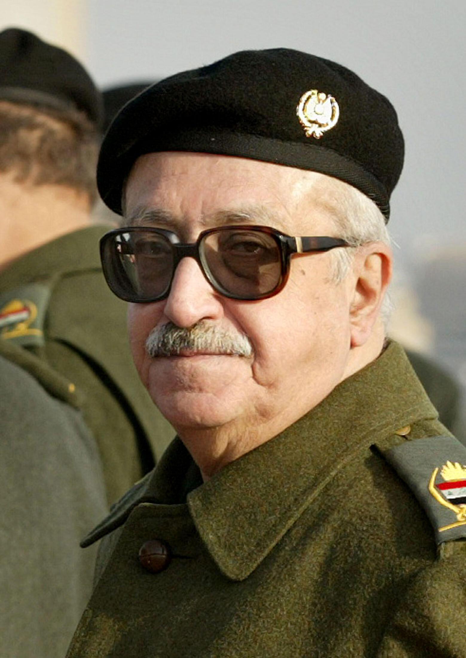 O ex-primeiro ministro de Saddam Husseim, Tareq  Aziz, foi condenado à pena de morte no Iraque por sua participação na eliminação de partidos religiosos.