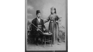 Семья евреев-сефардов из Сараево в 1900 г.