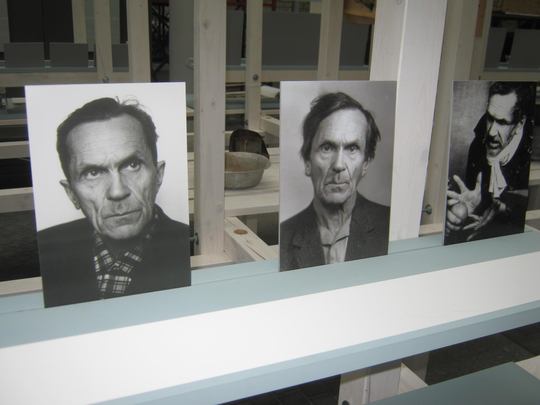 Портреты Варлама Шаламова с выставки «Жить или писать. Варлам Шаламов»