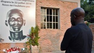 Le journaliste burundais Jean Bigirimana porté disparu depuis le 22 juillet 2016, près de Bujumbura.