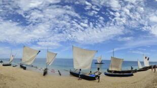 Le site touristique d'Anakao, l'un des plus connus de Madagascar.