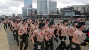 Мужской марафон 23 февраля в Минске