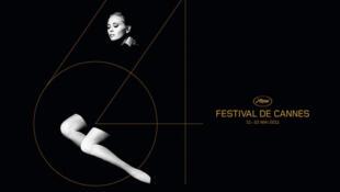 Cartaz do 64° Festival de Cinema de Cannes, com a atriz americana Faye Dunaway.