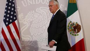 蒂勒森訪問墨西哥意圖與對方在不同中找共同 卻又不能收回之前強硬態度 可謂困難重重