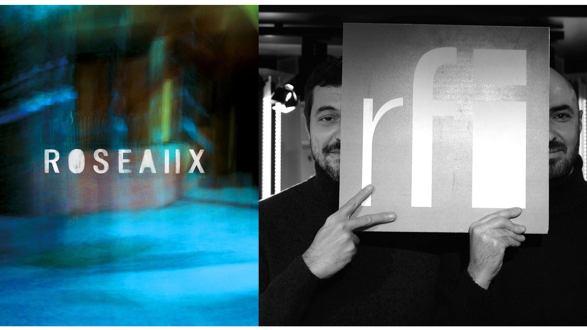 Roseaux (TotOuTard) ; Émile Omar et Alex Finkin à RFI (photo L.Aloir).