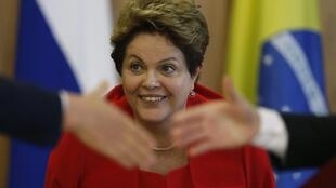 Presidente Dilma Rousseff é a anfitriã da cúpula, no Brasil.