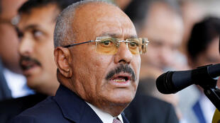 O  antigo  Presidente   do Iémen, Ali Abdullah Saleh.
