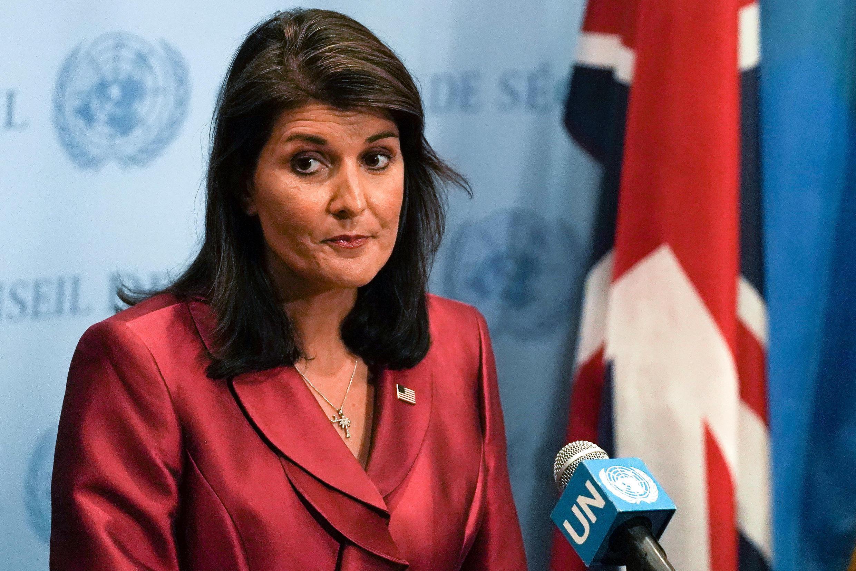 نیکی هیلی، سفیر دائمی آمریکا در سازمان ملل متحد