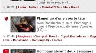 France Football deu destaque para o afastamento de Ricardo Teixeira da CBF.