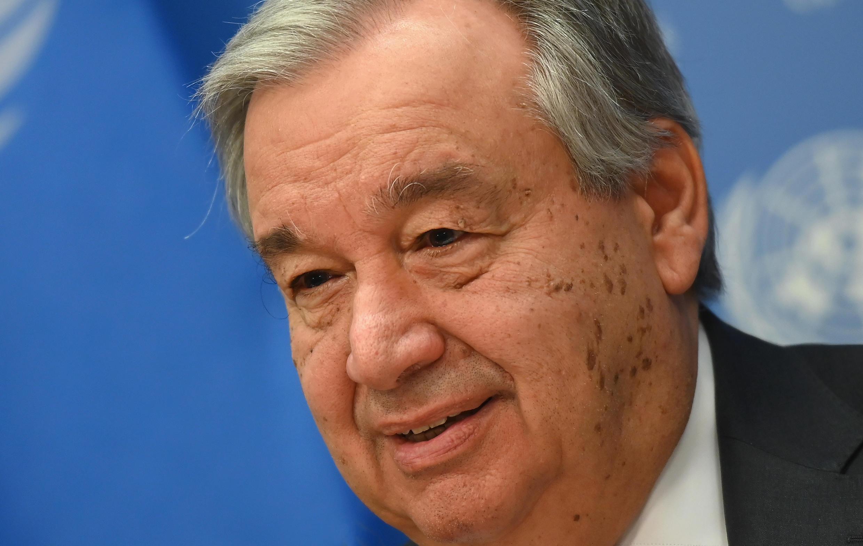 Antonio Guterres el 4 de febrero de 2020