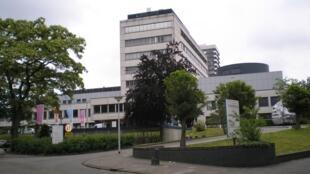 Hôpital St. Antonius situé entre Oudenrijn et Goedhartlaan 1, à Utrecht, aux Pays-Bas.