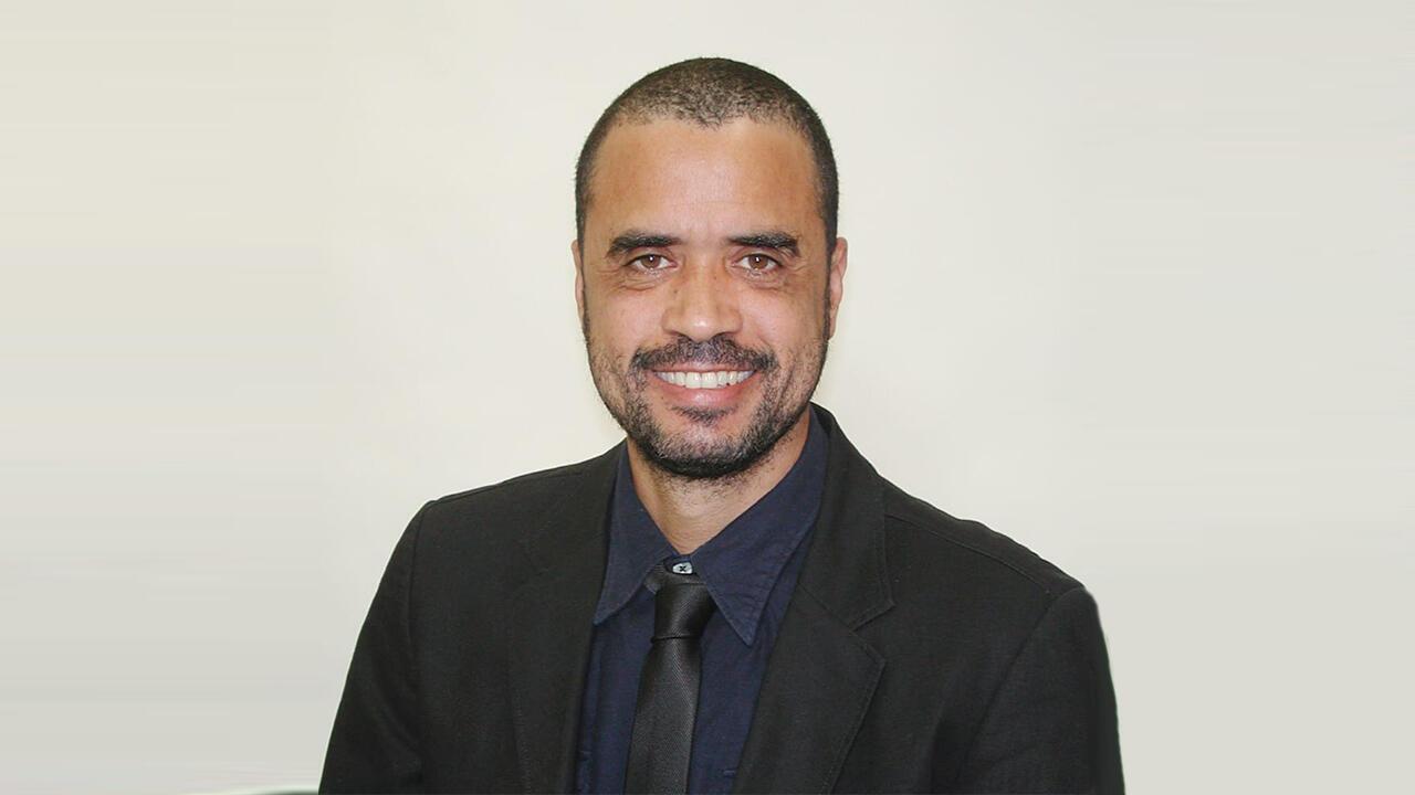 Gilson Alves, um dos sete candidatos às eleições presidenciais cabo-verdianas.