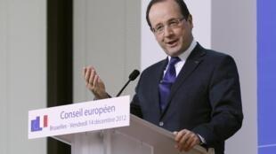 Shugaban kasar Faransa, François Hollande
