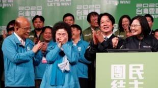 台灣總統蔡英文等資料圖片