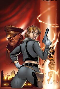 """""""Leviathan"""" fue publicada en francés por Wanga Comics."""