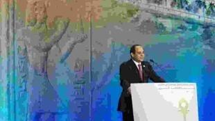 Egyptian President Abdel Fattah al-Sisi, Sharm el-Sheikh, 13 March 2015.
