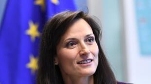 Mariya Gabriel, le 8 mars 2018.